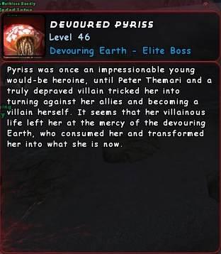 Devoured Pyriss Info