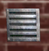 Small rusted Sg Vent