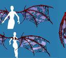 Costume Piece: Bone Wings