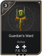 Guardian's Ward card