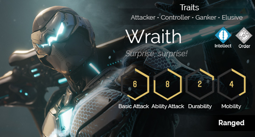 Wraith hover