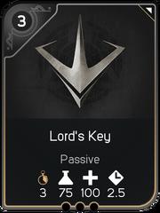 Lord's Key card
