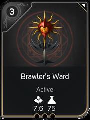 Brawler's Ward card