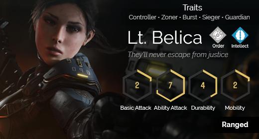Lt. Belica hover