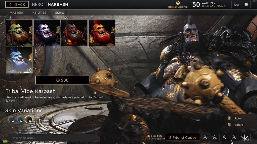 Narbash Onyx Tribal Vibe skin