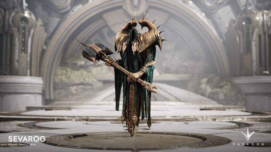 Sevarog Grand Oracle skin