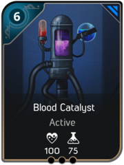 Blood Catalyst card