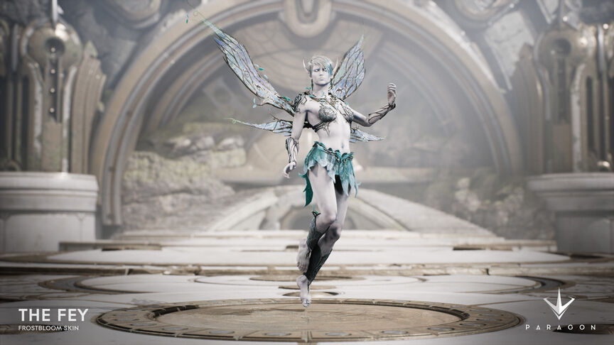 The Fey Frostbloom skin