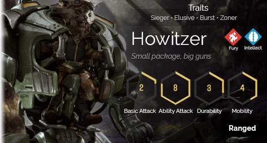 Howitzer hover