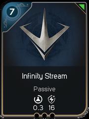 Infinity Stream card