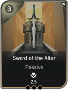Sword of the Altar