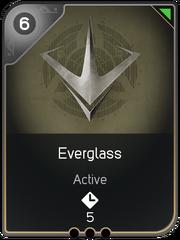 Everglass card