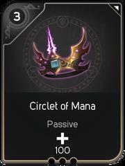 Circlet of Mana card
