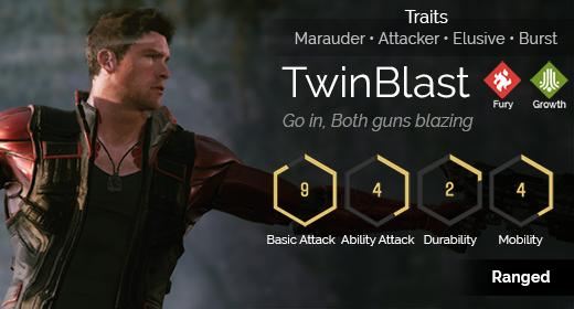 TwinBlast hover