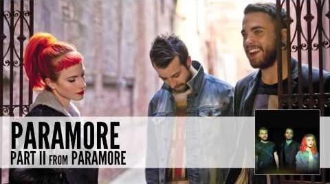 Paramore Part II (Audio)