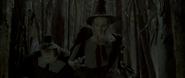 Judge with pilgrims