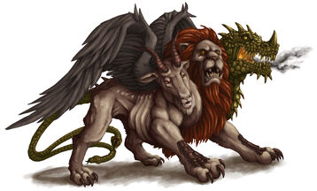 DS Monsters Chimera by willowWISP