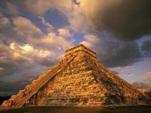 Ancient-Mayan-Ruins -Chichen-Itza -Mexico