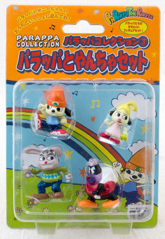 File:Parappa Collection Figure Set Gaster.jpg