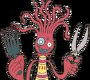 Hairdresser Octopus