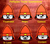 Merch Guitar Picks Parappa expressions