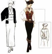 CharacterSketchesAya05UnusedCostumesKimonoPirate