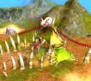 Zagroda Małych Dinozaurów Pustynnych Jedźiców