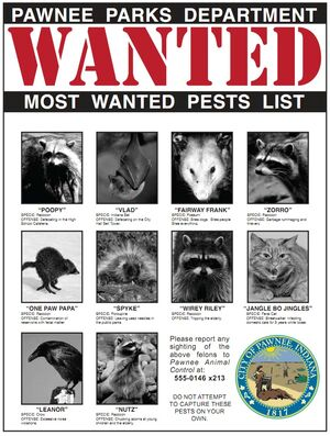 PawneeMostWantedPests