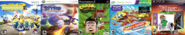 Thomas Raving Minions 2, The Legend of Ten Cents 3, Theodore Bandicoot 5, RayBob ManPants 8, and Tom and Bobert 8.