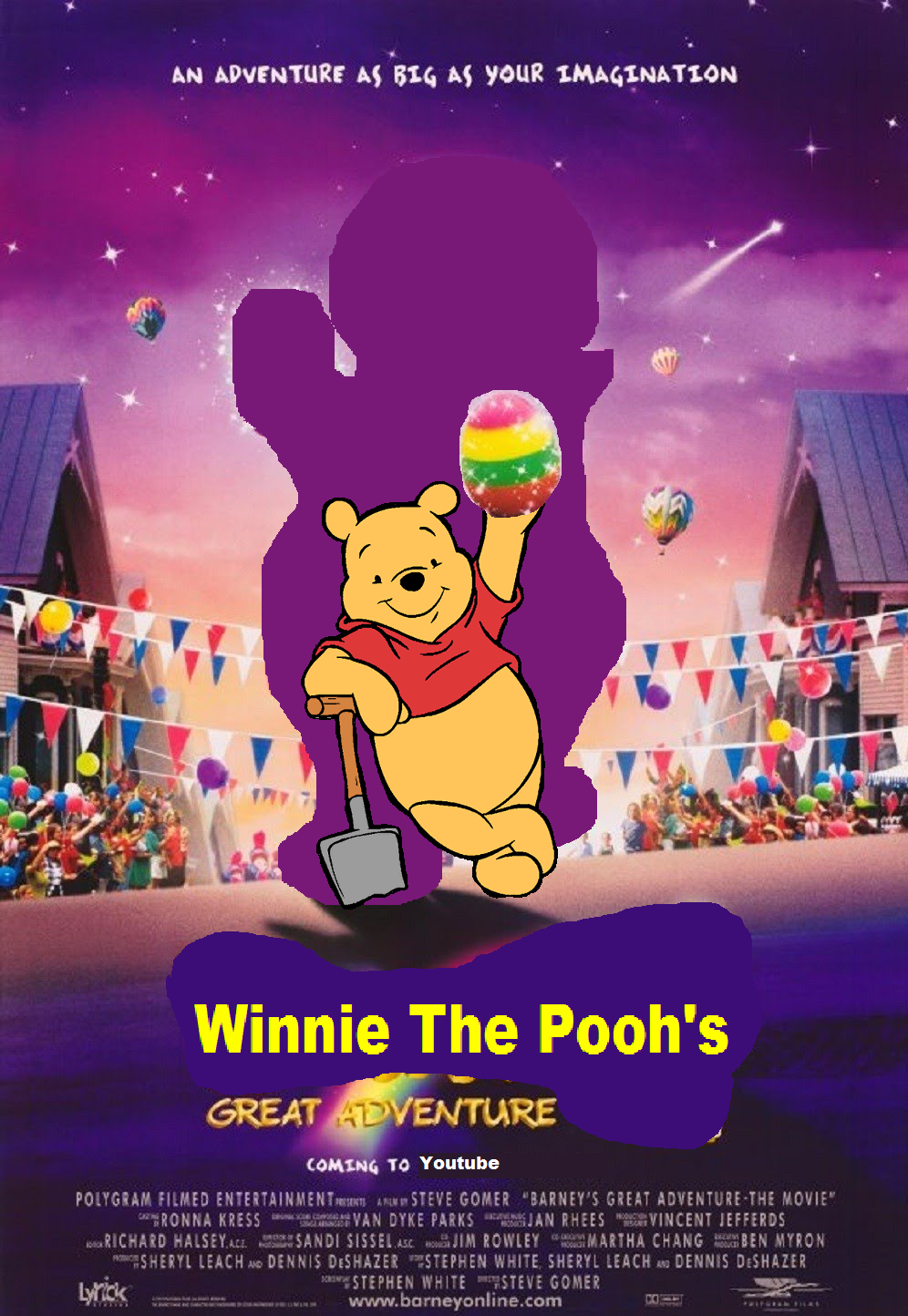Barney Great Adventure Movie 66596 Trendnet