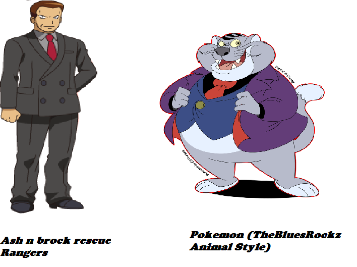 Image Giovanni Is Fat Cat In Ash N Brock Resuce 400movies And Fat Cat In Thebluesrockz Pokemon