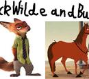 Nick Wilde and Buck (TheLastDisneyToon's Style)