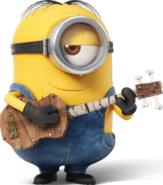 Stuart guitar minions