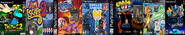 Thomas 2, Card Escape 2, Ten Cents 2, Arnold and Courage 2, Theodore Bandicoot 2, Little Big Planet 2, and Sly Simpson 2.
