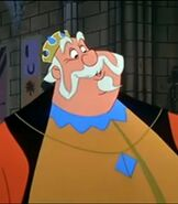 King Hubert in Sleeping Beauty