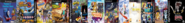 Thomas 3, Card Escape 3, Ten Cents 3, Arnold and Courage 3, Theodore Tugboat 3, Little Big Planet 3, Sly Simpson 3, SSX 3, Bart Simpson 3, RayBob ManPants 3, Rugrats 3, and Animal Raider.