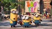 Kevin stay together minions