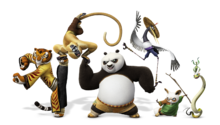 Kung fu panda 3 po and friends
