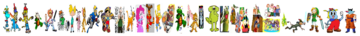 The Video Game Cast Too,..!
