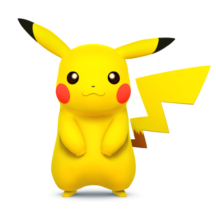 File:Pikachu for SSB4.png