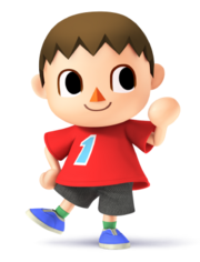 Villager for SSB4