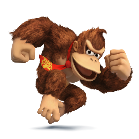 File:Donkey Kong for SSB4.png