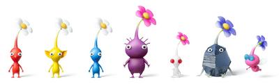 Pikmin types - Flower