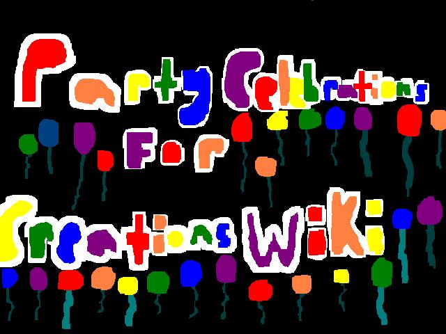 Party Celebrations for Creations Wiki logo