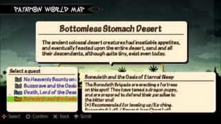 Bonedeth and the Oasis of Eternal Sleep Quest Details