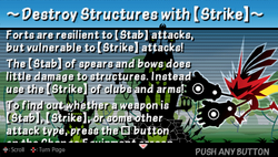 Destroy structures with -strike-