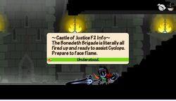 Castle of Jutice F2 info