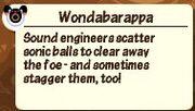 Wondabarappadescription