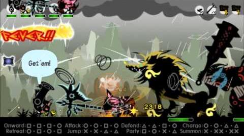 Patapon 3 Walkthrough Extra Thunder Lion of Svanki Pass