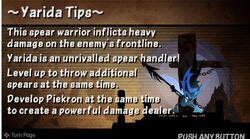Yarida tips